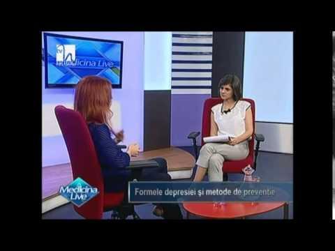 Psihoterapeut Monica Burcea - Depresia si provocarile zilnice