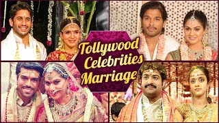 Tollywood‬ Celebrities Wedding Photos |  Mahesh Babu | Allu Arjun | Sridevi | Samantha Akkinneni - RAJSHRITELUGU