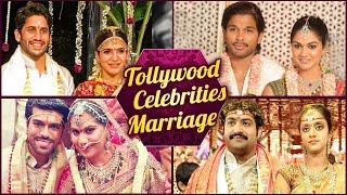 Tollywood Celebrities Wedding Photos |  Mahesh Babu | Allu Arjun | Sridevi | Samantha Akkinneni - RAJSHRITELUGU