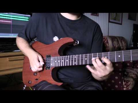 2013 Ibanez RG421 MOL (with Dimarzio Pickups) - Demo