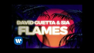 Video David Guetta & Sia - Flames (Lyric Video)