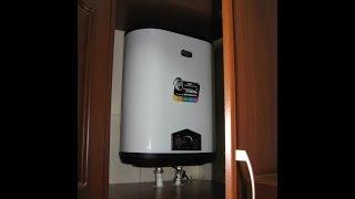 Водоснабжение на даче.Всё как в квартире!!!A water heater.