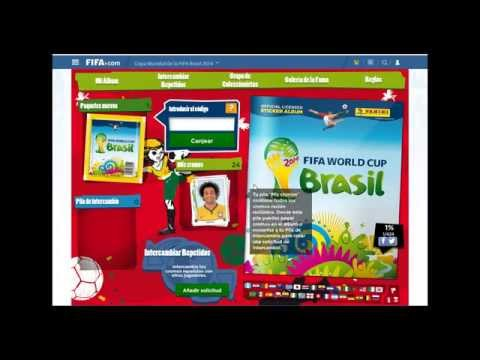 Sticker Album Online Brazil 2014 World Cup Panini Review Codes / Codigos Copa del Mundo Brasil 2014