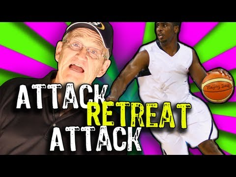 ATTACK RETREAT ATTACK!! Dribble Attack -- Shot Science Basketball