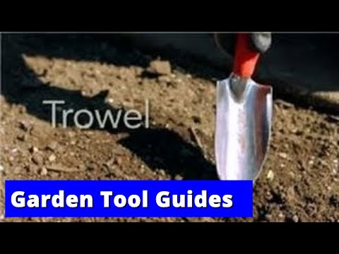 Garden Tool Guides : How to Use a Trowel