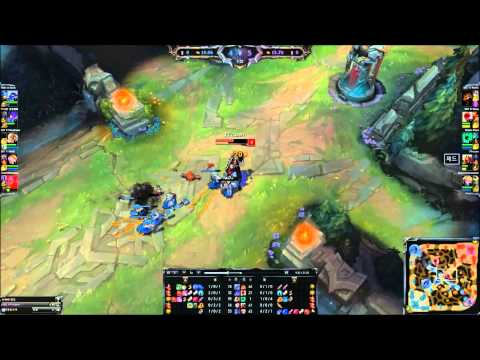 league of legends - Zed failed to kill one minion