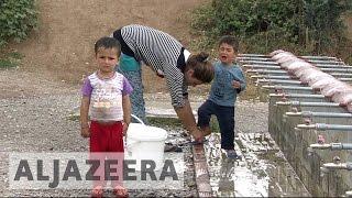 Poor health conditions for refugee children in Greek camps - ALJAZEERAENGLISH