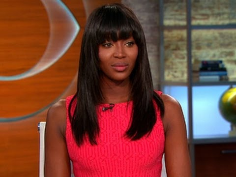 Naomi Campbell w CBS This Morning