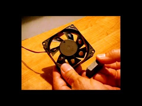 Related video for Free energy magnet motor fan