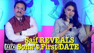 """Saif REVEALED Soha's First DATE with """"Wealthy Industrialist"""" ` - IANSINDIA"""