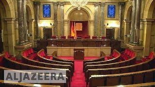 Catalonia parliament:  New representatives to be sworn in - ALJAZEERAENGLISH