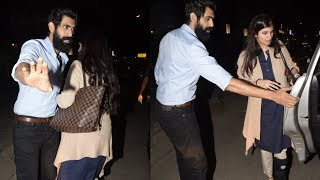 Rana Daggubati  spotted At Mumbai With Girlfriend - RAJSHRITELUGU