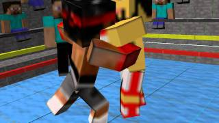 Minecraft Boxing Animation