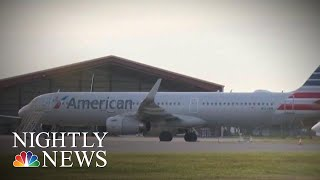 Suspect In Attempted Plane Theft 'Intended To Harm Himself,' FBI Says | NBC Nightly News - NBCNEWS