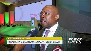 Transnet's CEO Siyabonga Gama on FY results, tackling irregular expenditure - ABNDIGITAL