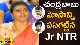 AP CM Chandrababu Naidu Tried to Mislead Voters in Telangana Says MLA Roja |YCP MLA Roja Latest News - MANGONEWS
