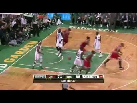 Chicago Bulls vs. Boston Celtics (Derrick Rose, 25 Pts vs. Ray Allen, 16 Pts), Jan. 13, 2012