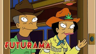 FUTURAMA | Season 4, Episode 6: Amy's Family On Mars | SYFY - SYFY