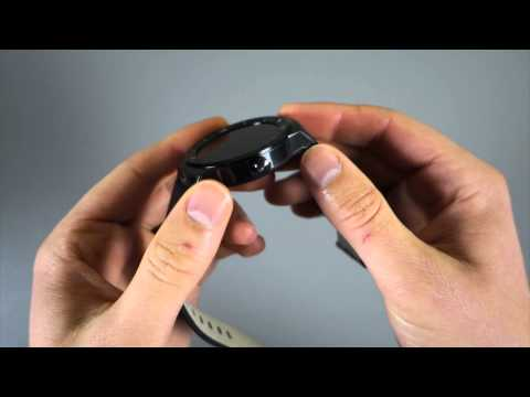LG G Watch R Unboxing and Tour
