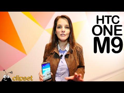 HTC One M9, Re Grip y Vive preview #MWC15 en español