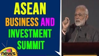 PM Modi Addresses ASEAN Business And Investment Summit | Philippines | Mango News - MANGONEWS