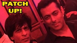 Shahrukh Khan & Salman Khan's patch up creates buzz - Bollywood News