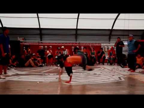 Batallas de breakdance en FARO Tláhuac. 1