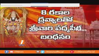 TTD To Close Tirumala Temple For 9 Days Over Maha Samprokshanam | iNews - INEWS
