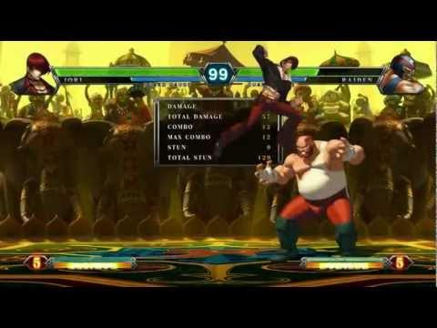 KOF XIII - Iori Yagami combo 100% (1022 damage)