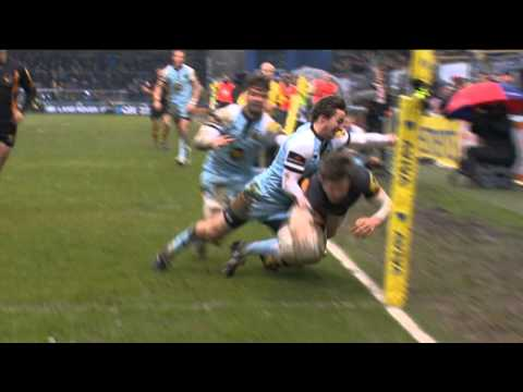 Elliot Daly - Try of The Week - Round 18 | Premiership Rugby