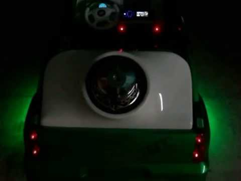 Vulgar Display Of Power Wheels Custom Cash & Candy Escalade part 2