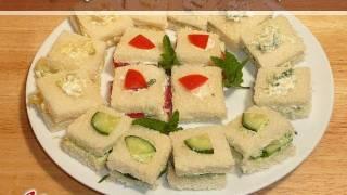 Finger Sandwiches..