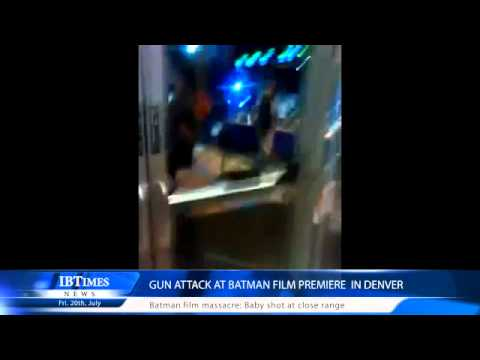 Gun attack at Batman film premiere  in Denver