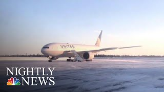 United Airlines Reviewing Flight That Left Passengers Stranded On Ground For Hrs | NBC Nightly News - NBCNEWS
