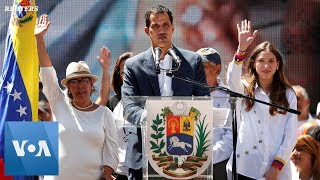 Venezuela Opposition Leader Wife Speaks to Crowd in Chile - VOAVIDEO
