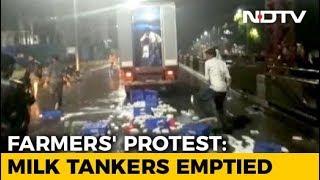 In Maharashtra, Milk Farmers Protest; Supply Badly Hit - NDTV
