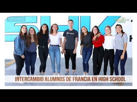 Intercambio alumnos de Francia en High School 2017