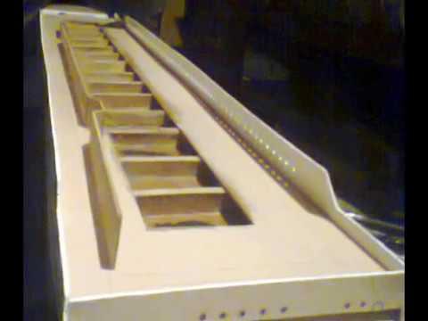 barco titanic maqueta de madera balsa en construccion part 1