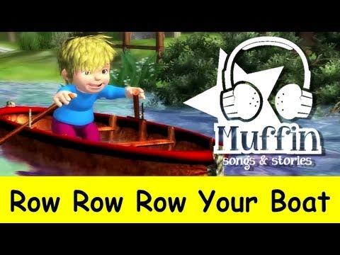 Muffin Songs – Row Row Row Your Boat Tekerlemeler ve İngilizce Çocuk Şarkıları