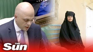 Sajid Javid on Shamima Begum - THESUNNEWSPAPER