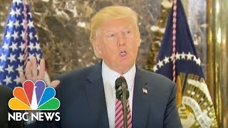 Watch Live: Trump Delivers Infrastructure Statement in NYC   NBC News - NBCNEWS