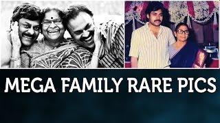 Mega Family Rare Unseen Photos | Chiranjeevi | Pawan Kalyan | Mega Heroes | Rare Pics - TELUGUFILMNAGAR