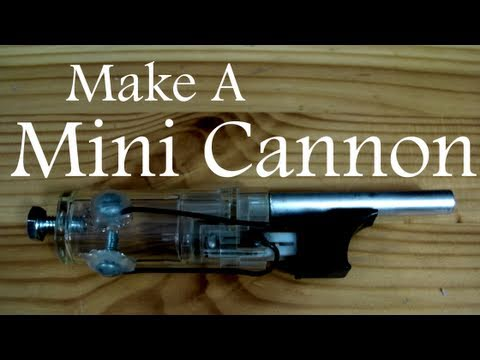 How to Make a Mini Cannon from a Lighter