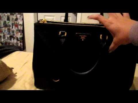prada light pink bag - prada mini saffiano leather double-zip tote, prada tote bag nylon