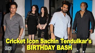 Cricket Icon Sachin Tendulkar turns 45, celebrates with family & friends - IANSINDIA