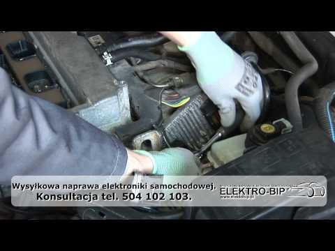 NAPRAWA - Jak wymontować Sterownik silnika opel z16xe z14xe Delco hsfi astra meriva vectra zafira
