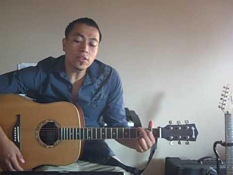 Dios manda lluvia guitarra cover.AVI
