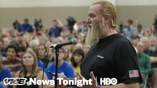 Gun Rights Supporters Are Tailing Parkland Students On Their Gun Control Tour (HBO) - VICENEWS