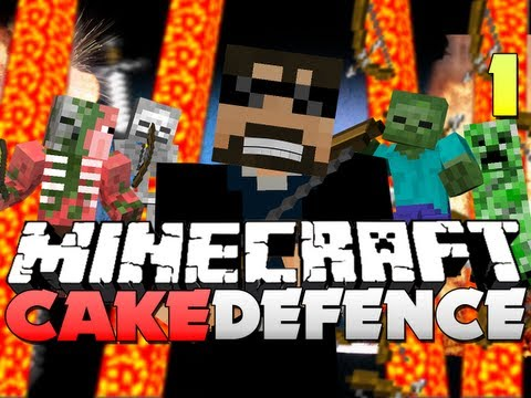 Minecraft CAKE DEFENSE!! - Part 1 - AGILITY UPGRADE OP!!