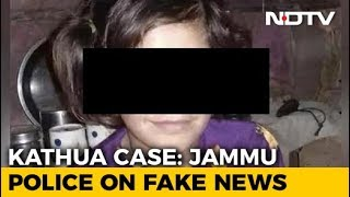 """Far Away From Truth"": Police Deny Claims That Kathua Girl Wasn't Raped - NDTV"